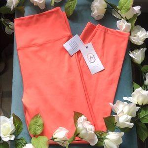 Coral leggings